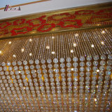 Lámpara cristalina del hotel de Pasillo K9 para la decoración