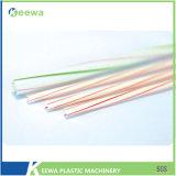 Automatischer Plastiktrinkhalm, der Maschine herstellt