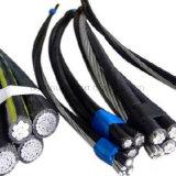 Cable de aluminio conducido Al del cable ACSR del cable AAC del ABC del alambre del cable