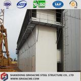 설치하게 쉬운 조립식 무거운 강철 구조물 발전소