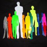 Het fluorescente Gele Vinyl van de Film van de Druk van de Overdracht van de Hitte van de T-shirt