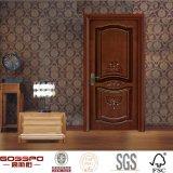 クラフトによって切り分けられるカスタム寝室の内部の固体木か木製のドア(GSP2-039)