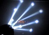 Fascio capo mobile della lavata di illuminazione 4*4in1 30W LED della fase della strumentazione del DJ