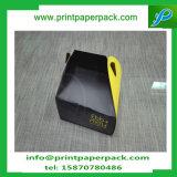 Rectángulo de torta moderno de oro de los rectángulos de papel del aniversario de boda de las cajas de embalaje del caramelo del partido del acontecimiento