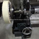 El PLC controla la película que raja y máquina el rebobinar