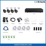 Intelligente 1080P 4CH NVR Installationssätze für HauptSicherheitssystem
