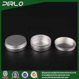 25gねじふたが付いている銀製アルミニウム錫のスキンケアのクリームまたはリップ・クリームまたは毛のワックスのパッキングアルミニウム瓶