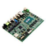 Fanless Ingebedde Brodwell Motherboard van de Bewerkers van Soc I3/I5/I7 met Groef 3*SIM