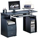 黒いカラーCPUのコンピュータの机の木の学校のオフィス用家具(NS-ND055)