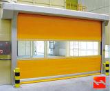 Porte rapide industrielle automatique d'obturateur de rouleau de PVC de Manufactur (HF-J02)