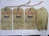 Kraftpapier-Karten-Papier-Fall und Taillen-Marke