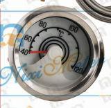 Calibro di temperatura dell'acqua con una riga di rilevamento di 60mm