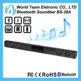 Altavoz sin hilos portable Soundbar de Bluetooth Digital de la música estérea