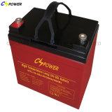 Gedichtete Batterie der Gel-tiefe Schleife-6V 310ah für Golf-Karre RV-Boot