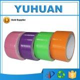 La alta calidad coloreó la cinta impermeable del conducto del paño