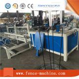 Máquina de alimentação da cerca da ligação Chain do fio dobro automático
