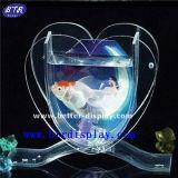주문 아크릴 사랑 심혼 모양 어항 (BTR-S2042)
