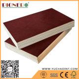 La película antirresbaladiza de la alta calidad hizo frente a la madera contrachapada manufacturada por la fábrica de Linyi