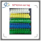 Bovenkant die de Veterinaire Markering van het Oor van de Schapen van het Vee van Apparatuur Plastic Dierlijke verkopen