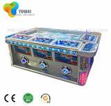 Cabina video de fichas de encargo de la máquina del vector de juego de la pesca