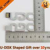 Clé de mémoire USB de logo de lettre exceptionnelle/caractère pour les cadeaux libres (YT-1803L)
