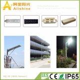 20W 5 лет света стоянкы автомобилей интегрированный солнечной улицы батареи гарантированности LiFePO4 салатового