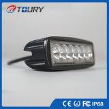 Luz de trabajo de una hilera de LED de 18W LED Construcción