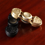 Gold/Rose-Gold/Blaues/Schwarzes/silberner Spinner-Unruhe-Aluminiumlegierung Tri-Spinner des Metall3mins