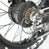 vélo se pliant électrique de la neige 20inch avec le gros pneu