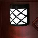 lámpara solar impermeable de la iluminación de la pared del Coner al aire libre de 6PCS LED (QW-N763)