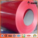 El mejor color del precio de fábrica de Ideabond cubrió la bobina de aluminio