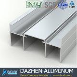 Perfil de alumínio da estrutura do indicador com dimensão personalizada
