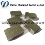 Il diamante di pietra abrasivo degli utensili per il taglio il segmento di taglio della lama per sega