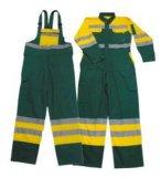 Vêtements de travail de combinaison du 100%Cotton de vêtements de travail des hommes globaux r3fléchissants de combinaison