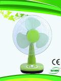 16 polegadas de ventilador colorido da mesa do ventilador de tabela da C.C. 24V (Sb-T-DC40o