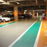 Sistema de dirección para encontrar la visualización de pantalla rápida de los estacionamientos LED