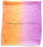 DIP Bright Dyeing imprimé en polyester fin Lady Scarf (HWBPS090)
