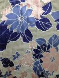 Ожог вне Discharge напечатанный Silk опал в флористической картине