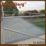 AußenFrameless Glasgeländer verdrängen Aluminiumglasu-profilstäbe (SJ-X1072)