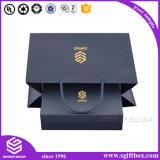 Rectángulo de empaquetado del perfume del regalo de gama alta con la pieza inserta de seda