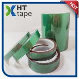 El polvo más caliente de 200 Celsius que cubre la cinta verde de la película del animal doméstico
