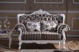 Sofá europeu da sala de visitas do sofá da tela do estilo de Divany