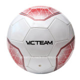 Sfera di calcio promozionale del globo di formato 5 cuciti a macchina poco costosi del PVC
