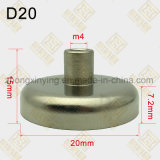 D20mm de Samengestelde Schijf van de Holding van de Magneet met BinnenDraad