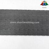 Sangle grise de ceinture de sécurité de polyester de 1 pouce