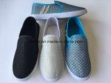 Unisexsegeltuch-Schuh-Frauen-Mann-verursachende Schuh-Gewebe Belüftung-Schuhe