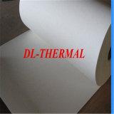 Isolation thermique de papier Bio-Soluble de fibre d'Aucun-Cahier pour du traitement mécanique