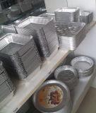 容易競争価格のアルミホイルの食糧容器取り除けば