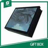 金ホイルStamppingが付いている顧客用贅沢なギフト用の箱