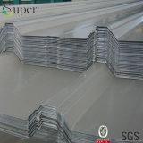 strato d'acciaio del tetto galvanizzato 0.14-0.6mm*820/900mm